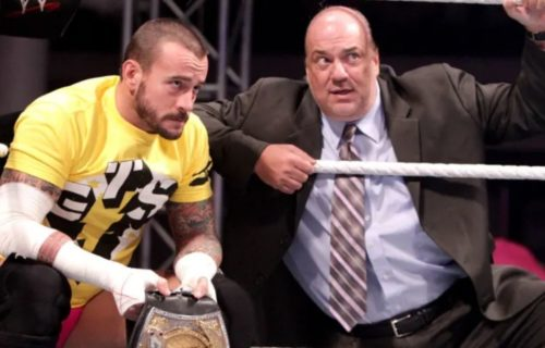 Paul Heyman recollects why WWE paired him up with CM Punk