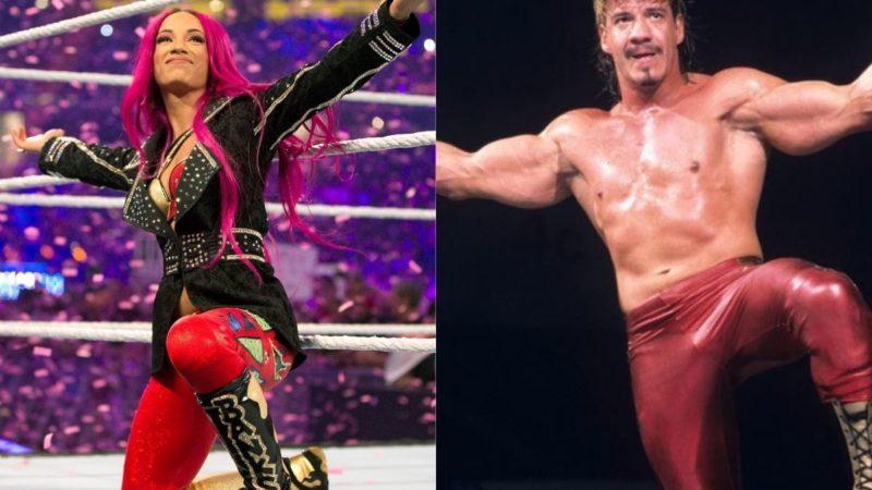 Sasha Banks and Eddie Guerrero