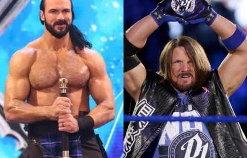 Drew McIntyre reveals how long he had to wait for the match with AJ Styles