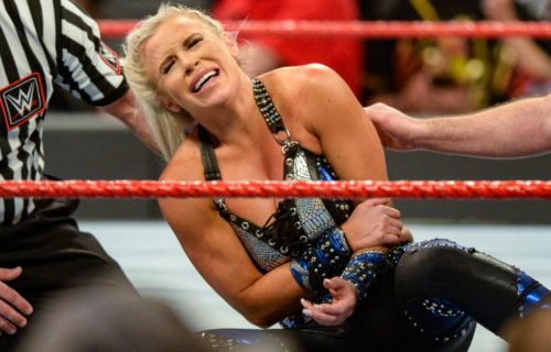 Dana Brooke called out on social media for not wearing a mask properly