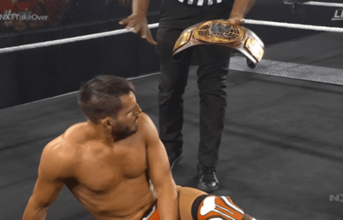 Johnny Gargano is the new NXT North American Champion