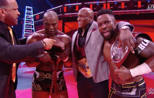 The Hurt Business are the new RAW Tag Team Champions