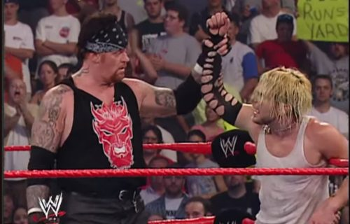 Jeff Hardy reveals how a bout with The Undertaker helped his career