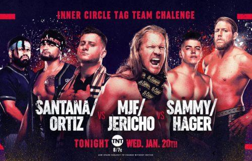 AEW Dynamite results Jan. 20: Inner Circle three-way tag showdown