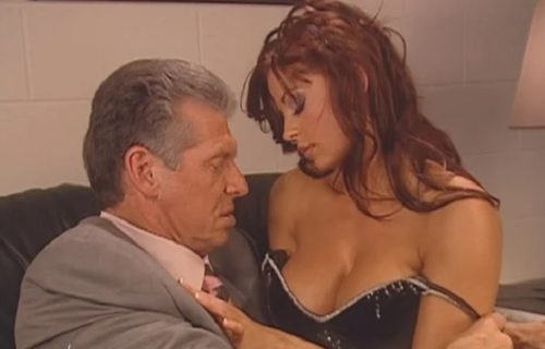 Candice Michelle on having to kiss Vince McMahon during their romantic angle