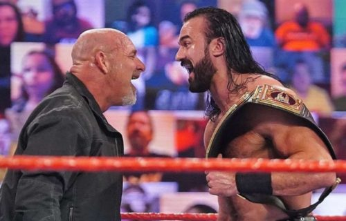 Drew McIntyre & Goldberg segment announced for upcoming WWE RAW