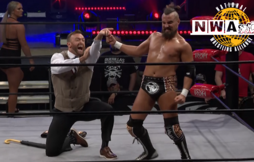 Former TV Champion Marty Scurll and Ring of Honor part ways