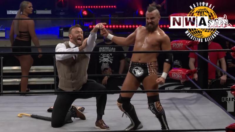 Marty Scurll Nick Aldis ROH NWA