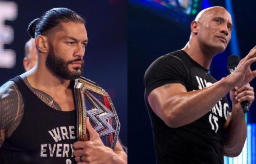 Roman Reigns vs. The Rock Major Spoiler Leaks