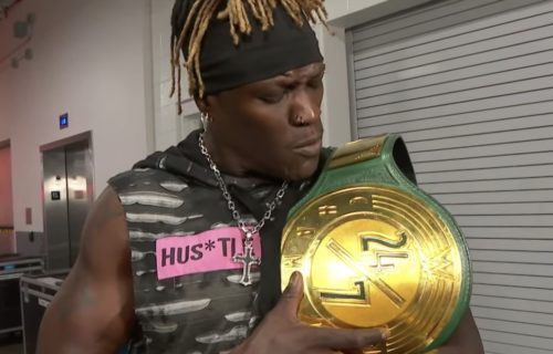 R-Truth wins back his 24x7 title from Angel Garza