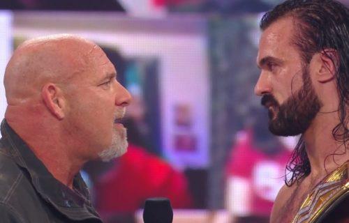 Drew McIntyre Reacts To Goldberg Promo Botch