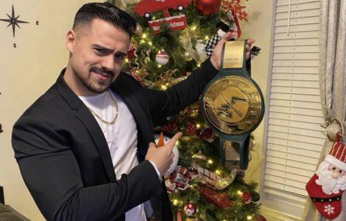 Angel Garza is the new WWE 24x7 Champion