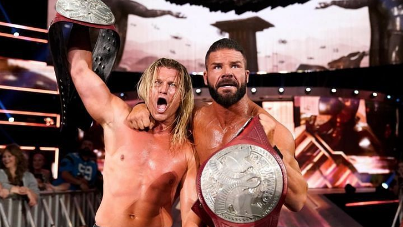 Robert Roode and Dolph Ziggler