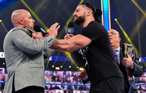 Adam Pearce Botches Roman Reigns Smackdown Promo