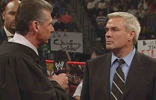Eric Bischoff Reacts To Vince McMahon Drug Charges