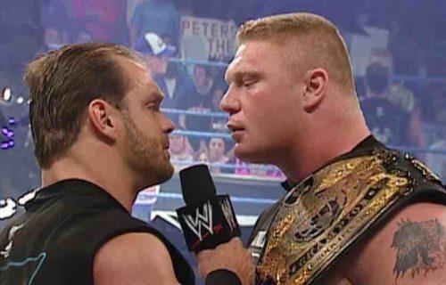 Brock Lesnar 'Canceled' Match With Chris Benoit