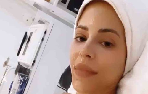 Charly Caruso Gets Facial In New Video