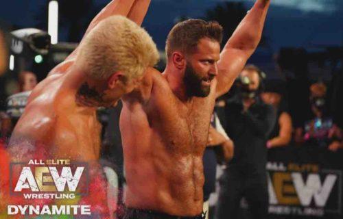 Cody Rhodes Reacts To Matt Cardona Jump To Impact