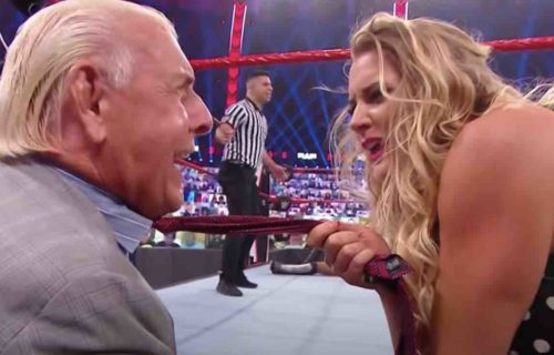 Lacey Evans Shares Gross Ric Flair Message