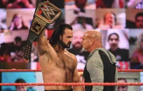 Goldberg & Drew McIntyre Lose Viewers On WWE Raw