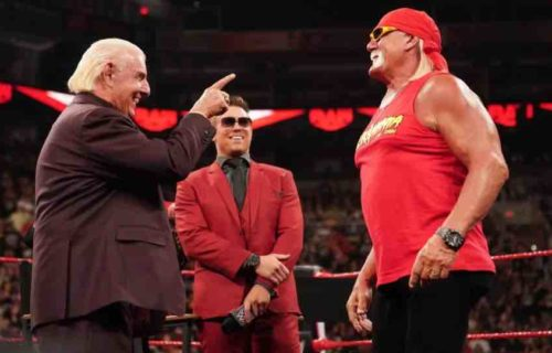 Ric Flair Photographed Drinking With Hulk Hogan