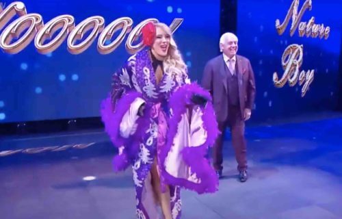 Lacey Evans 'Lays Down' For Ric Flair In Photo