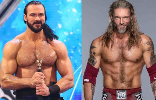Drew McIntyre & Edge Rumored WrestleMania Matches Leak