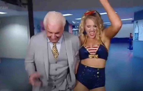 Ric Flair Bold Reaction To Lacey Evans Pregnancy Leaks