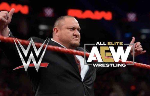 Samoa Joe Calls Out 'False' AEW Star Rumor