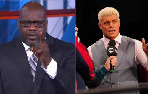 Shaq Threatens 'Cupcake' Cody Rhodes On Inside The NBA