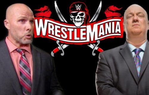 Adam Pearce Hints At Paul Heyman WrestleMania Match