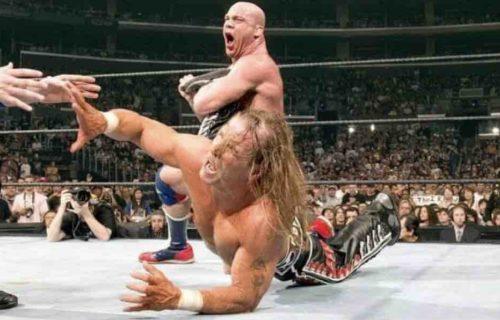 Shawn Michaels 'Threatened' Kurt Angle Backstage