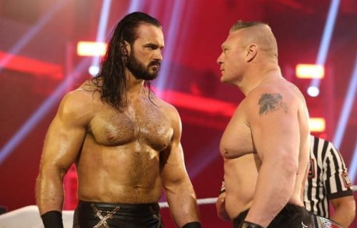 Brock Lesnar Rumored To 'Replace' Drew McIntyre In Match