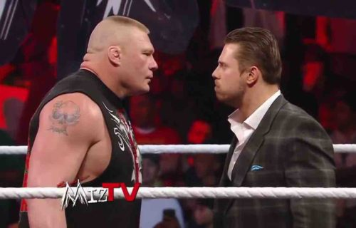 Brock Lesnar Rumored The Miz Match Revealed