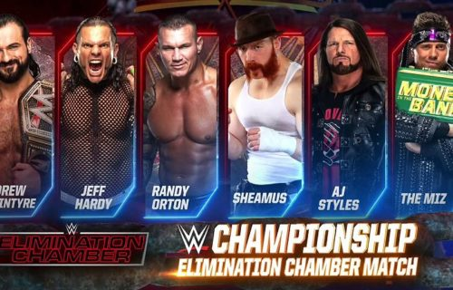 WWE Cancel Rumored Elimination Chamber Match