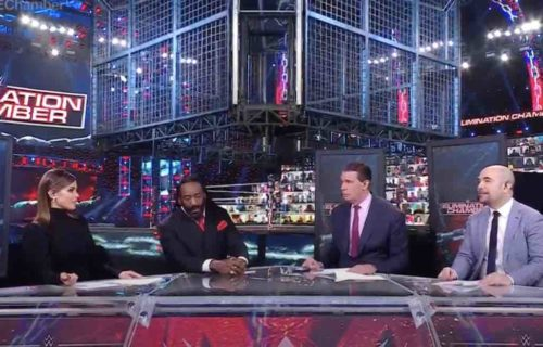 AEW Star Teased At Elimination Chamber After Botch