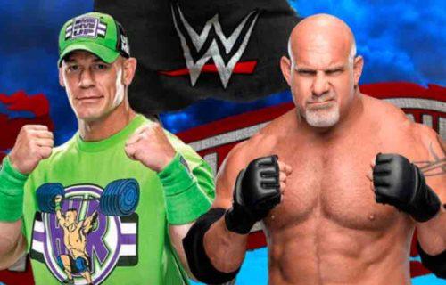 John Cena vs. Goldberg WrestleMania Idea Revealed