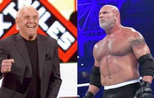 Goldberg 'Disrespected' Ric Flair Backstage