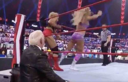 Charlotte Flair 'Ruins' Raw Match With Lacey Evans