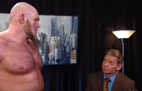 Vince McMahon Fired Lars Sullivan After 'No Show'