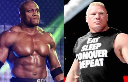 Brock Lesnar vs. Bobby Lashley Pitched For WrestleMania