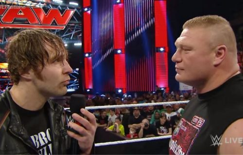 Jon Moxley Reacts To Brock Lesnar AEW Debut Rumor