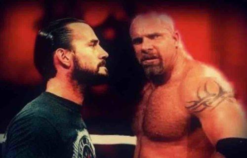 CM Punk Wanted Goldberg WWE Title Match