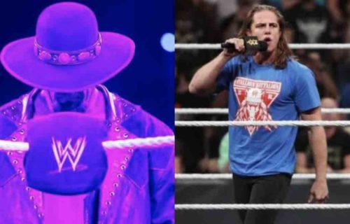 Matt Riddle Refuses Undertaker 'Fight' In WWE