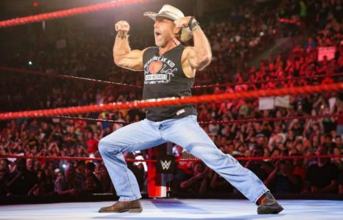 Shawn Michaels 'Kissed' Top WWE Wrestler