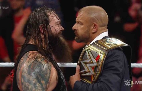 Triple H Reacts To Canceled Bray Wyatt Storyline