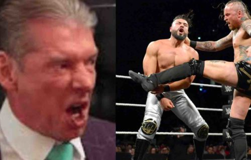 Vince McMahon 'Buries' Aleister Black & Andrade