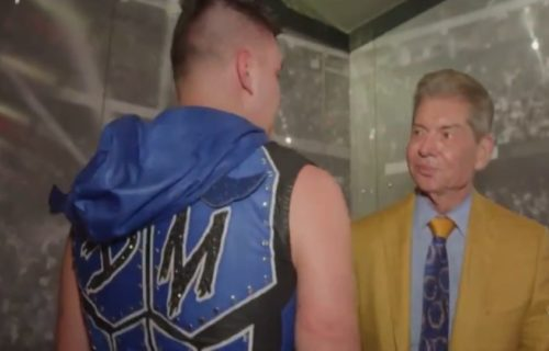 Vince McMahon Disrespects Dominik Mysterio Backstage