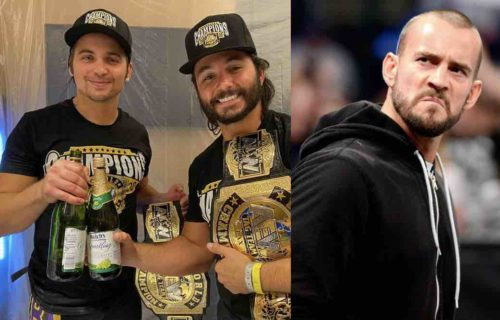 Young Bucks React To CM Punk In Ring Comeback