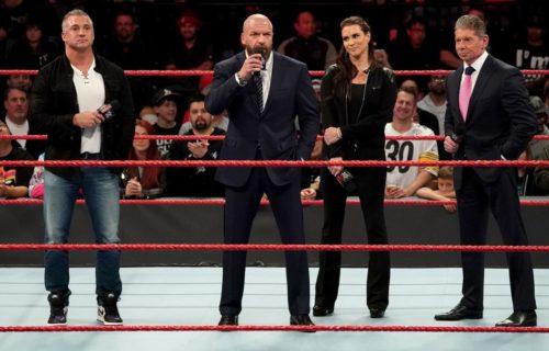 Shane McMahon & Triple H 'Taking Over' WWE Idea Leaks